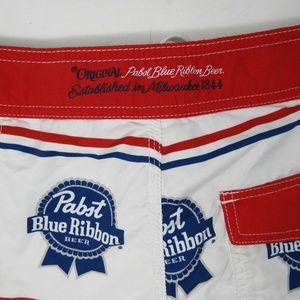 492ab75693 O'Neill Shorts   Pbr Pabst Blue Ribbon Beer Oneill Board Short Men ...
